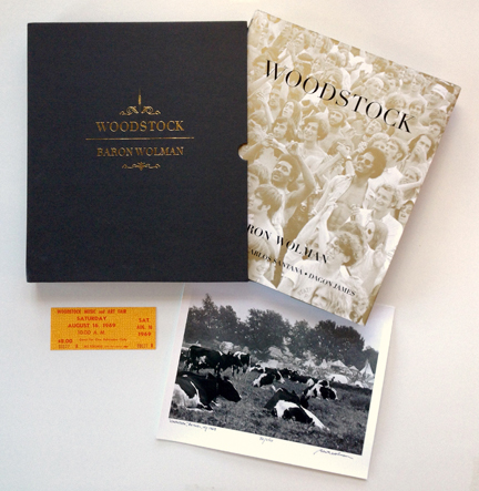 Woodstock Limited Edition Offer Baron Wolman