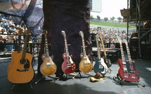 Led Zeppelin Guitars Jimmy Page Baron Wolman